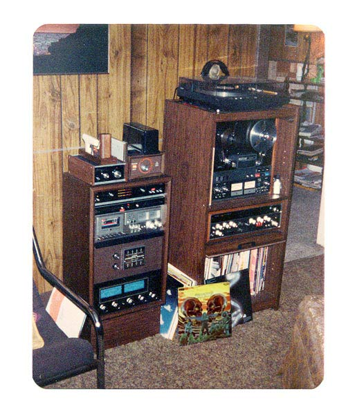 Some of my first audio gear - photo .. 3lex-quad