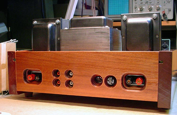 Dynaco Center Channel Assembly-back-panel