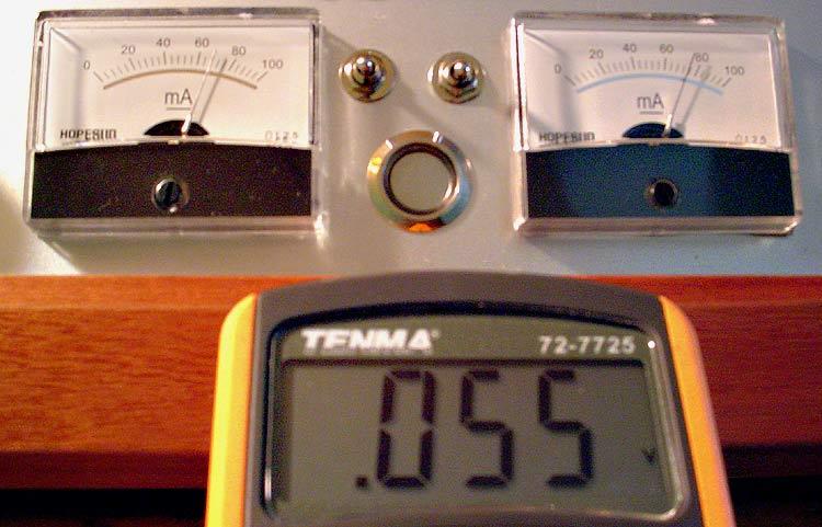 Analog Bias Meters For The VTA ST-120 Meter-error
