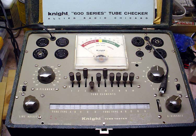 Tube Tester Knight-600-001