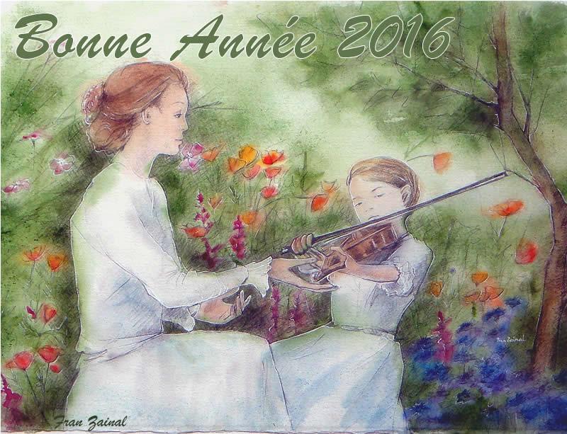 Bonne Année!  Bonneannee