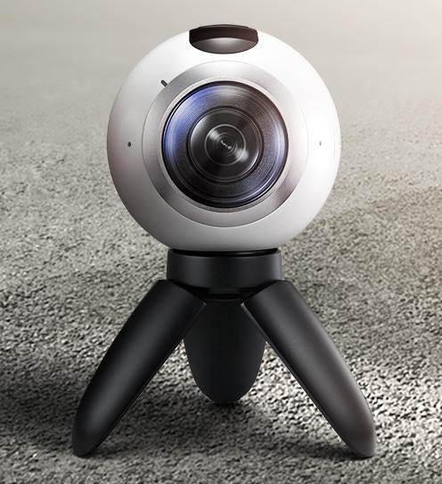 Réalité virtuelle en 360° avec BluffTitler 13 Gear360