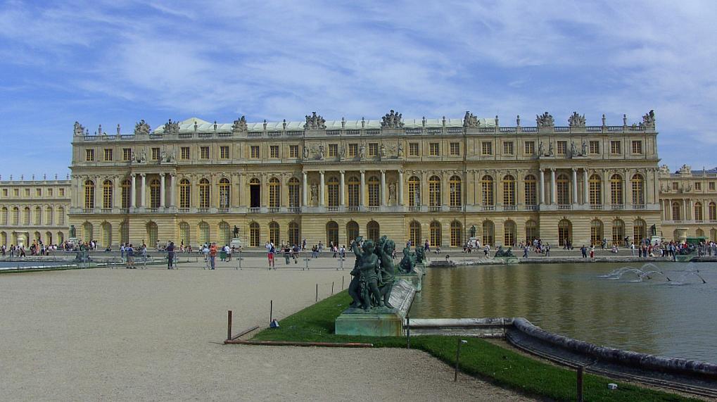 Effet dessin au trait Versailles-1