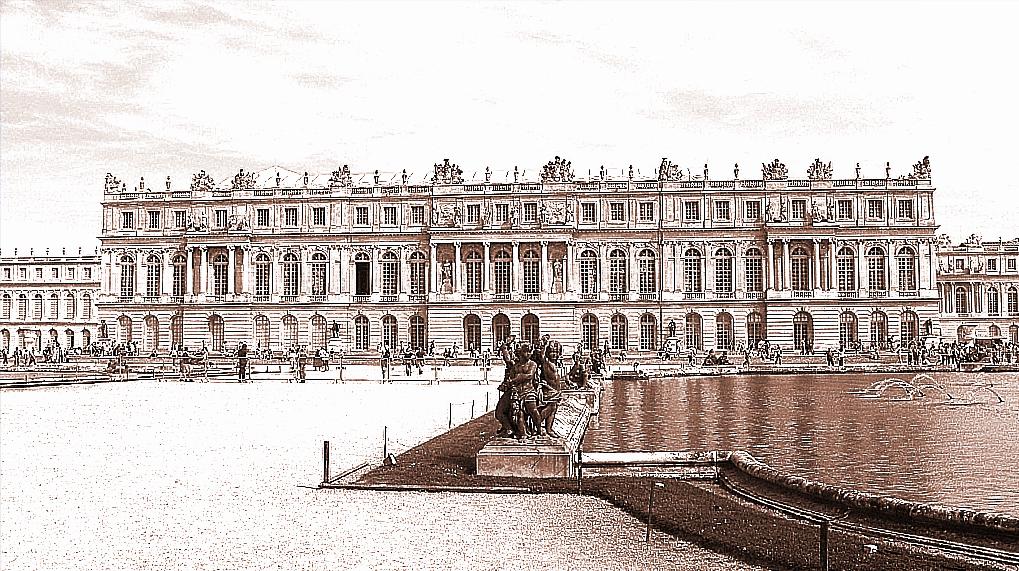 Effet dessin au trait Versailles4