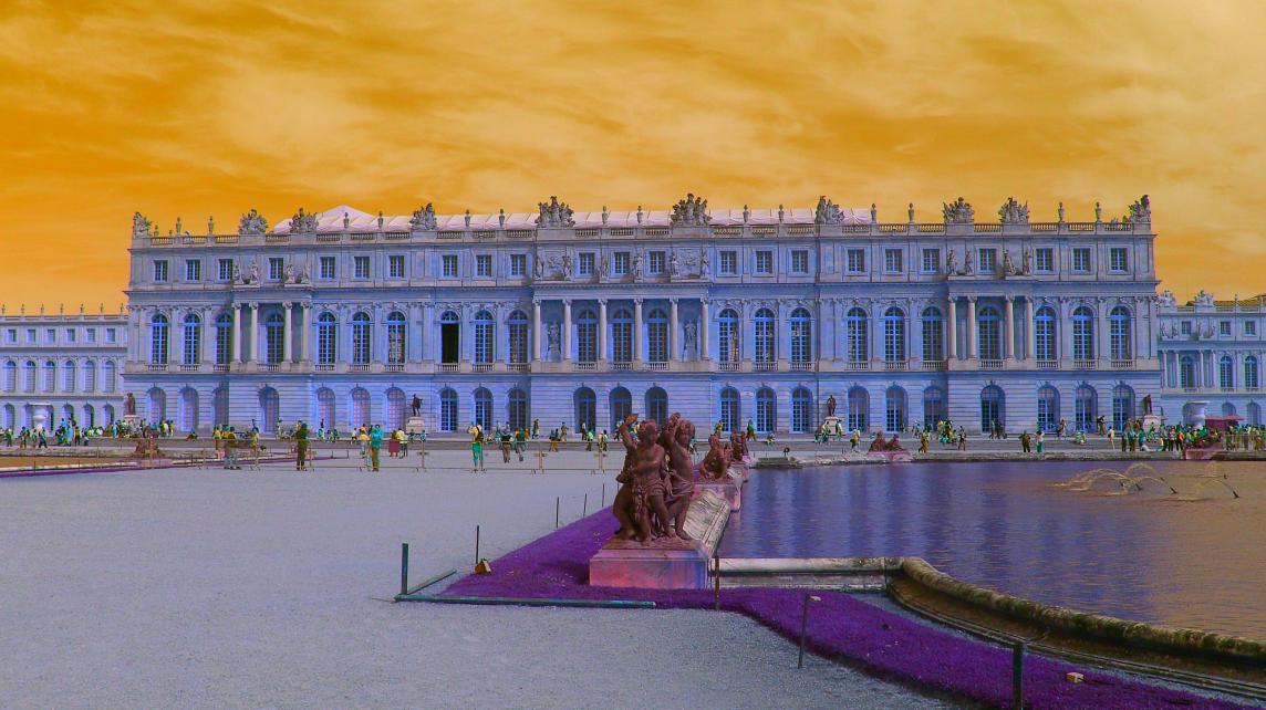 Effet dessin au trait Versailles5