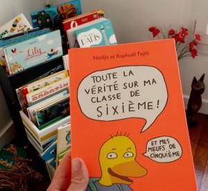 Rentrée littéraire 2015 !  - Page 2 Verite-sur-ma-classe-de-6e-300x276