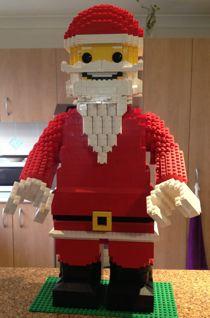 2012 Christmas MOCs Santa
