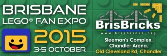BRISBANE LEGO FAN EXPO Banner