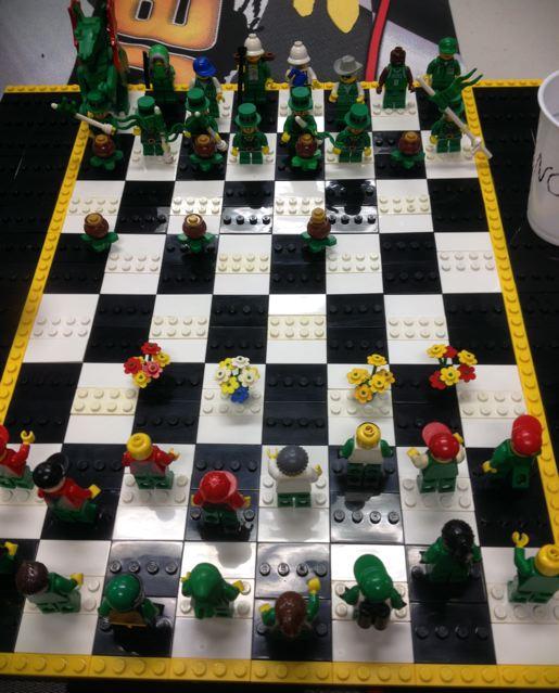 St Paddy's day Irish_chess_board