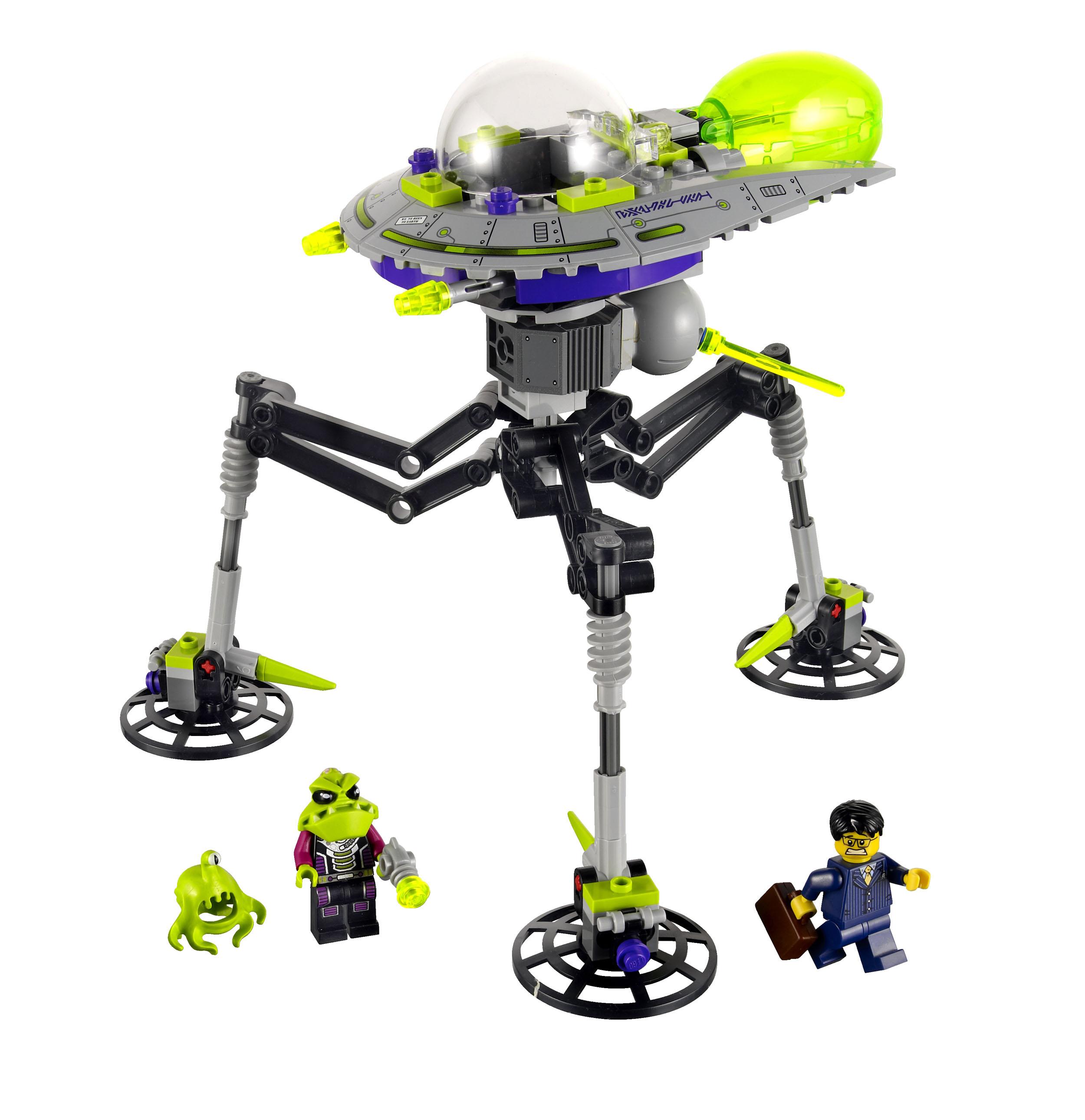 2011 Alien Conquest 7051_lego_tripod_invader
