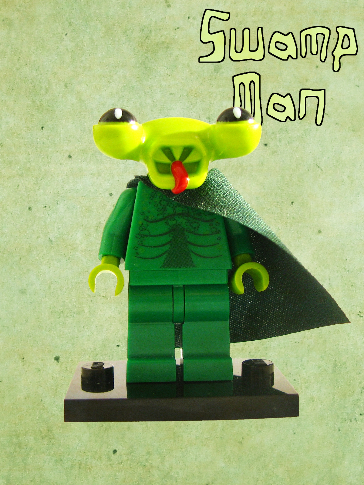 Custom Figures Vol. 2 5._swamp_man
