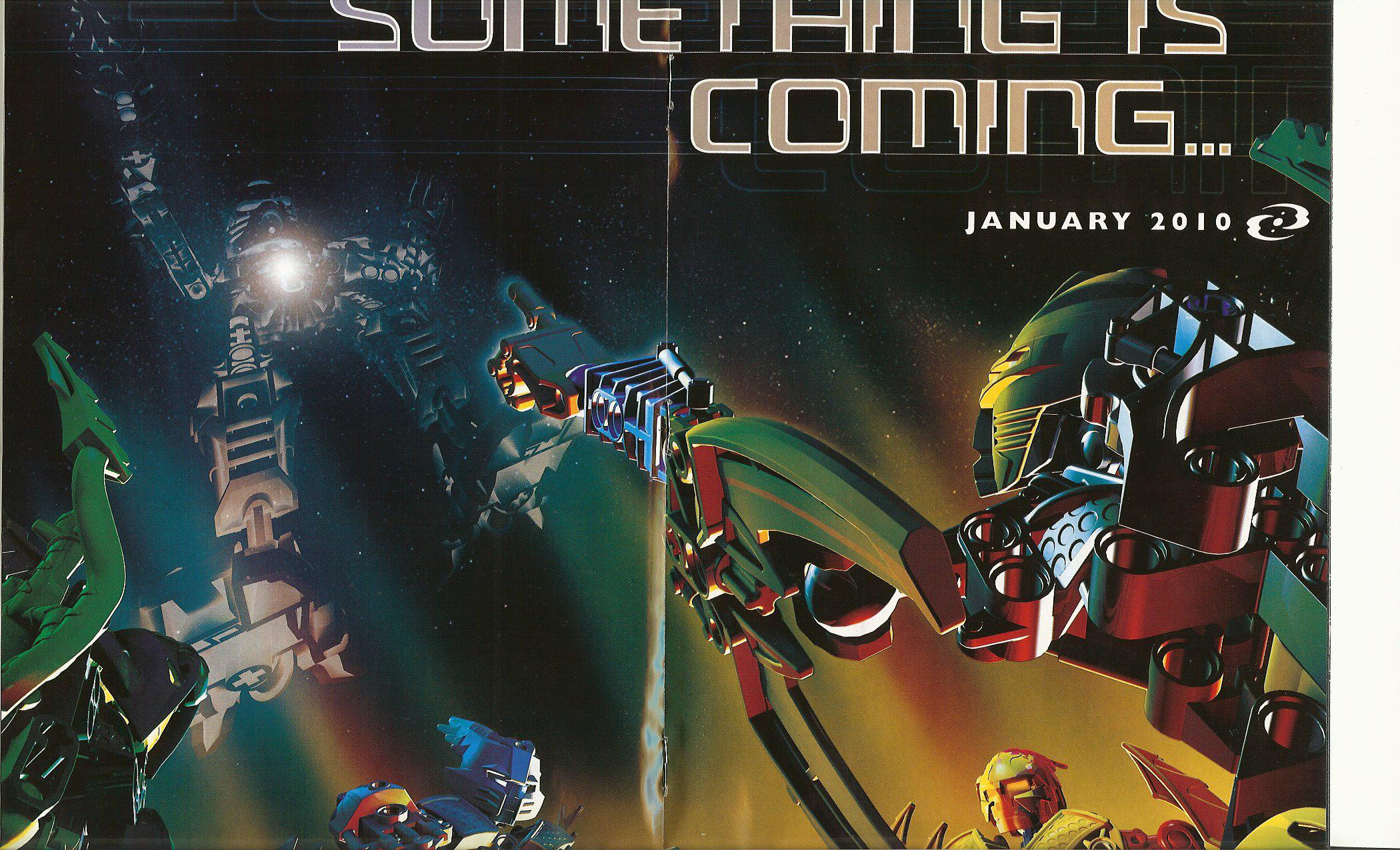 [Bionicle] Premier teaser 2010 dans le LEGO Magazine Tahunui
