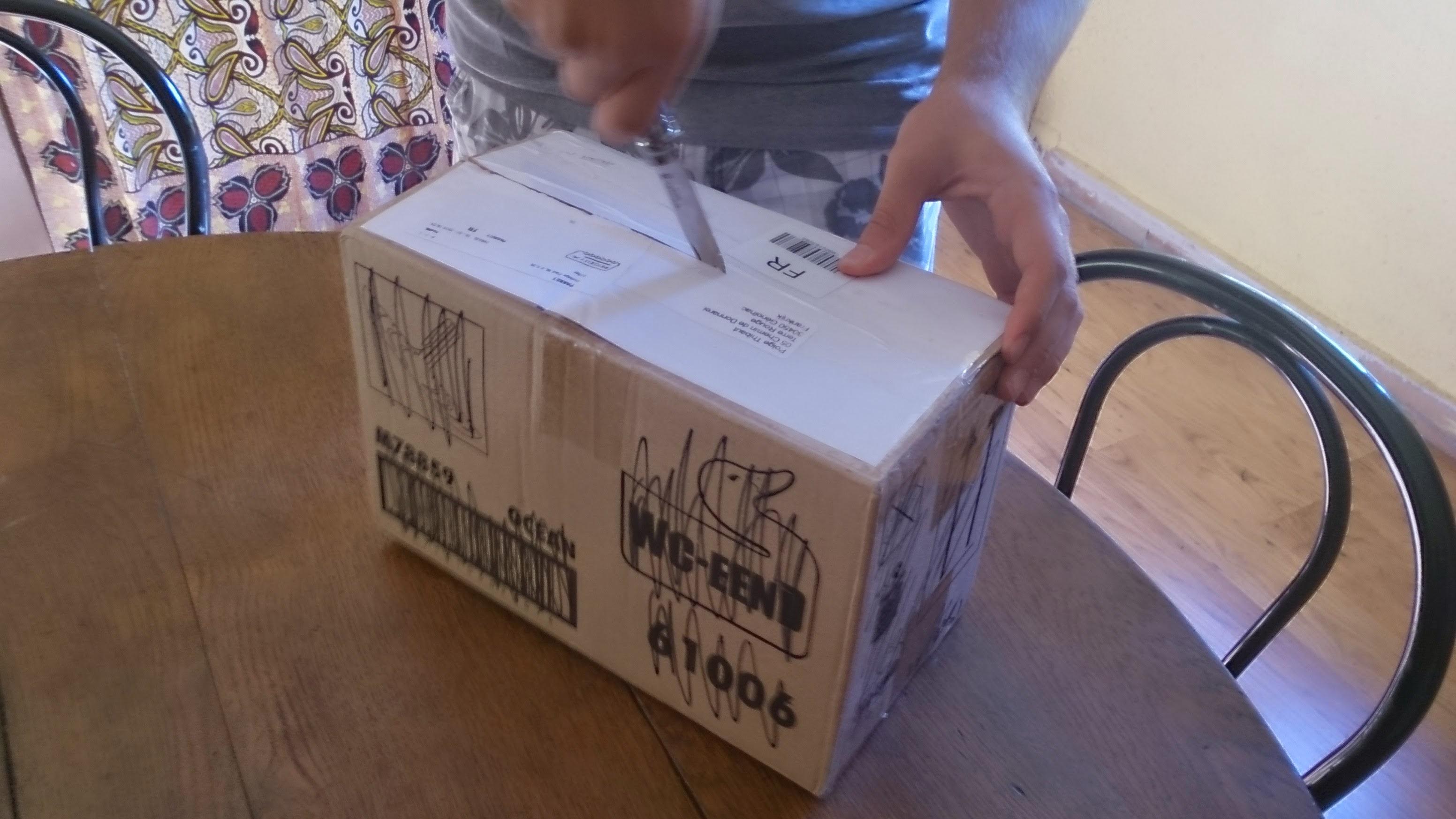 [Blog] Boîte aux lettres de Piruk #6 Du carton... enfin ouvert !  Dsc_0986