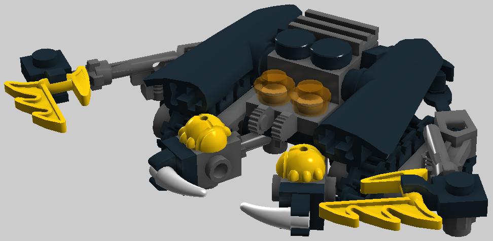 [MOC] Coup de Cœur : Rahi miniaturisés - taille minifigurine 0j1_manas