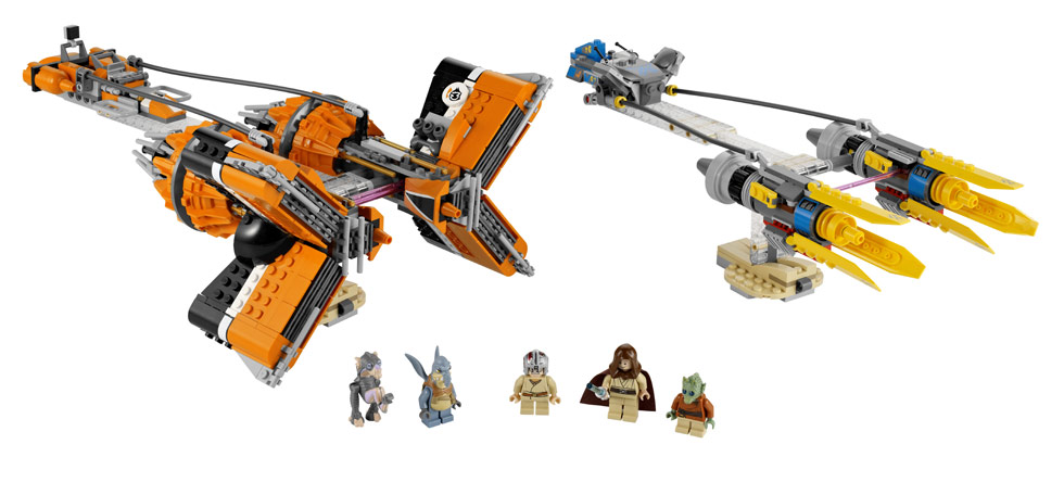 iLUG - Israeli LEGO Users Group - Portal 7962_anakins_and_sebulbas_podracers