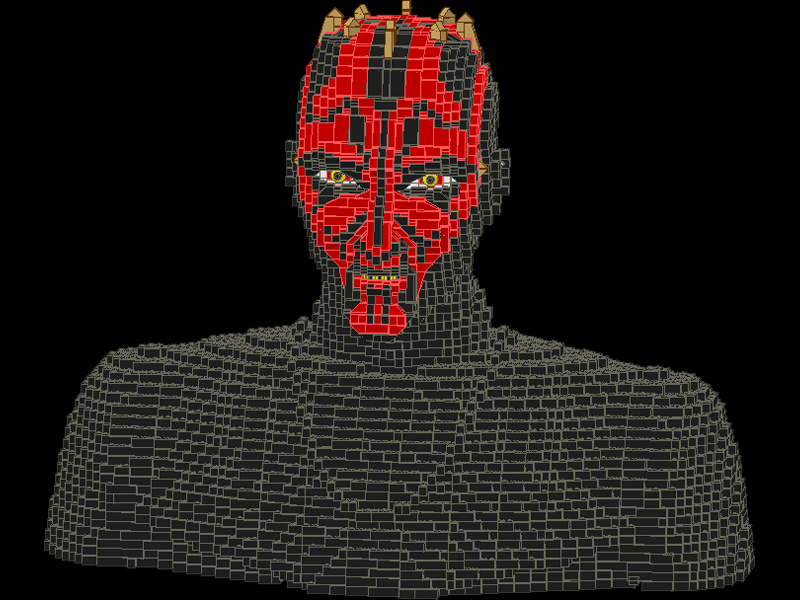 [Lego] Les sculptures en briques ! Am01