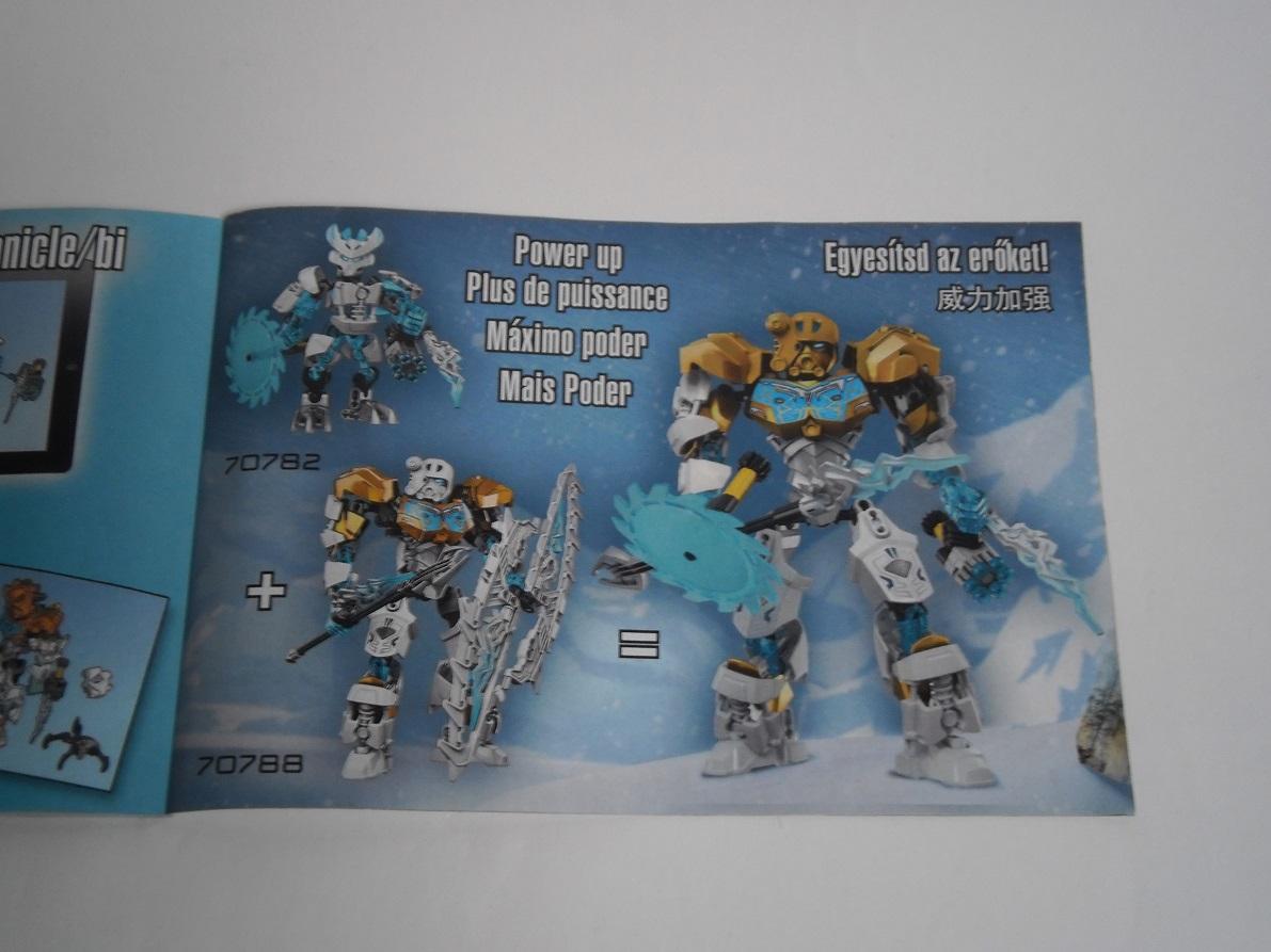 [Revue] LEGO Bionicle 70782 : Protecteur de la Glace Pb260037