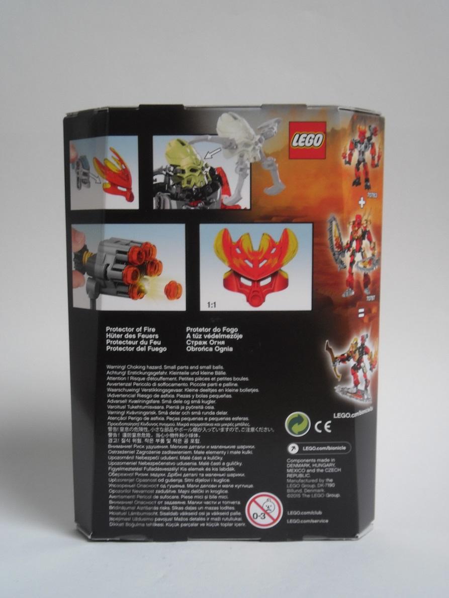 [Revue] LEGO Bionicle 70783 : Protecteur du Feu Pb270022