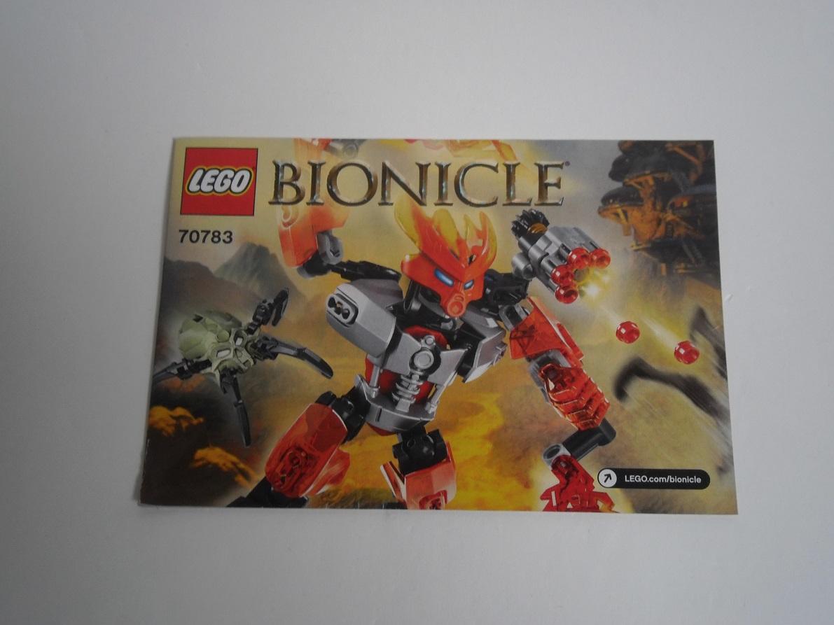 [Revue] LEGO Bionicle 70783 : Protecteur du Feu Pb270024