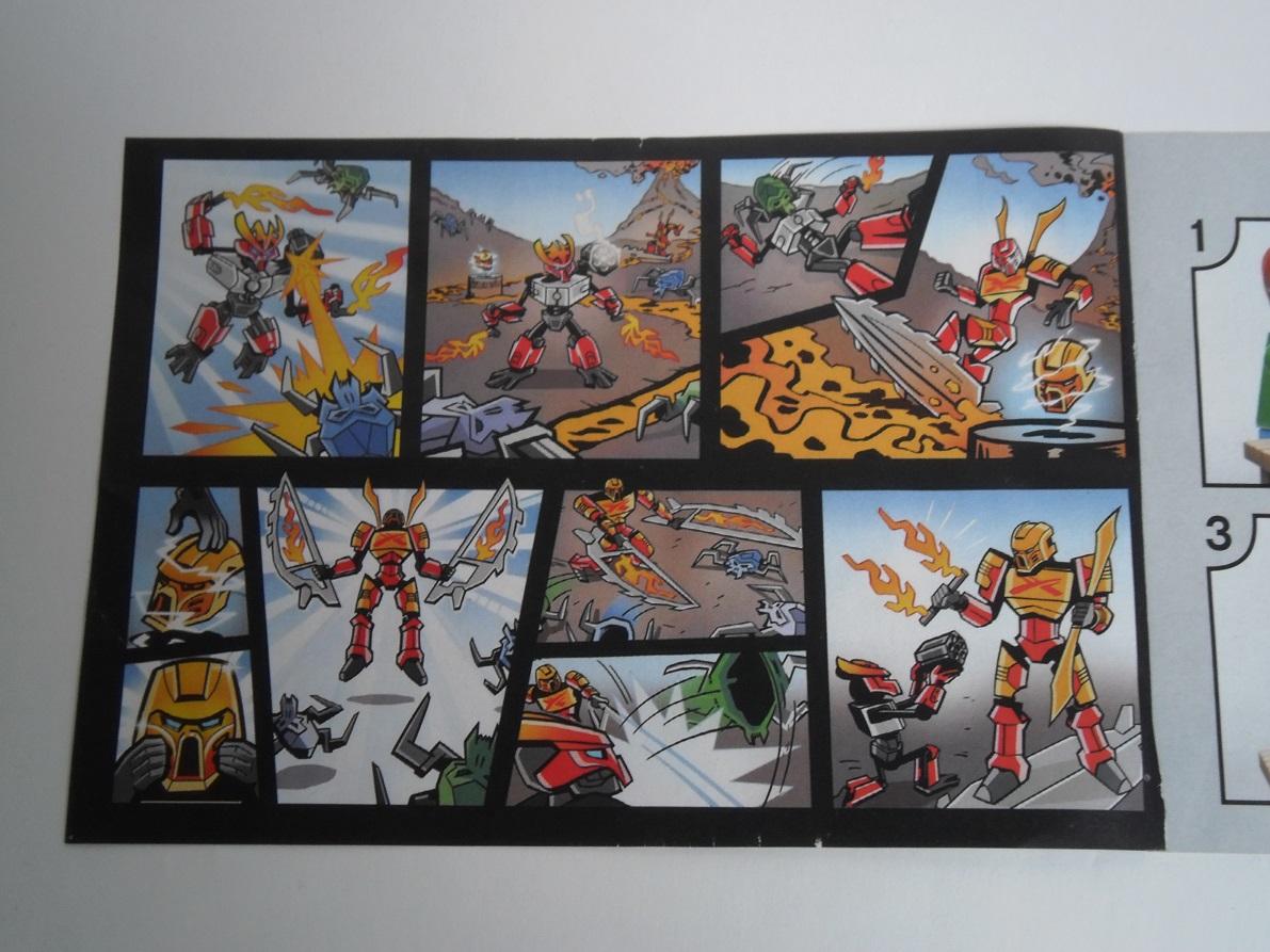 [Revue] LEGO Bionicle 70783 : Protecteur du Feu Pb270031