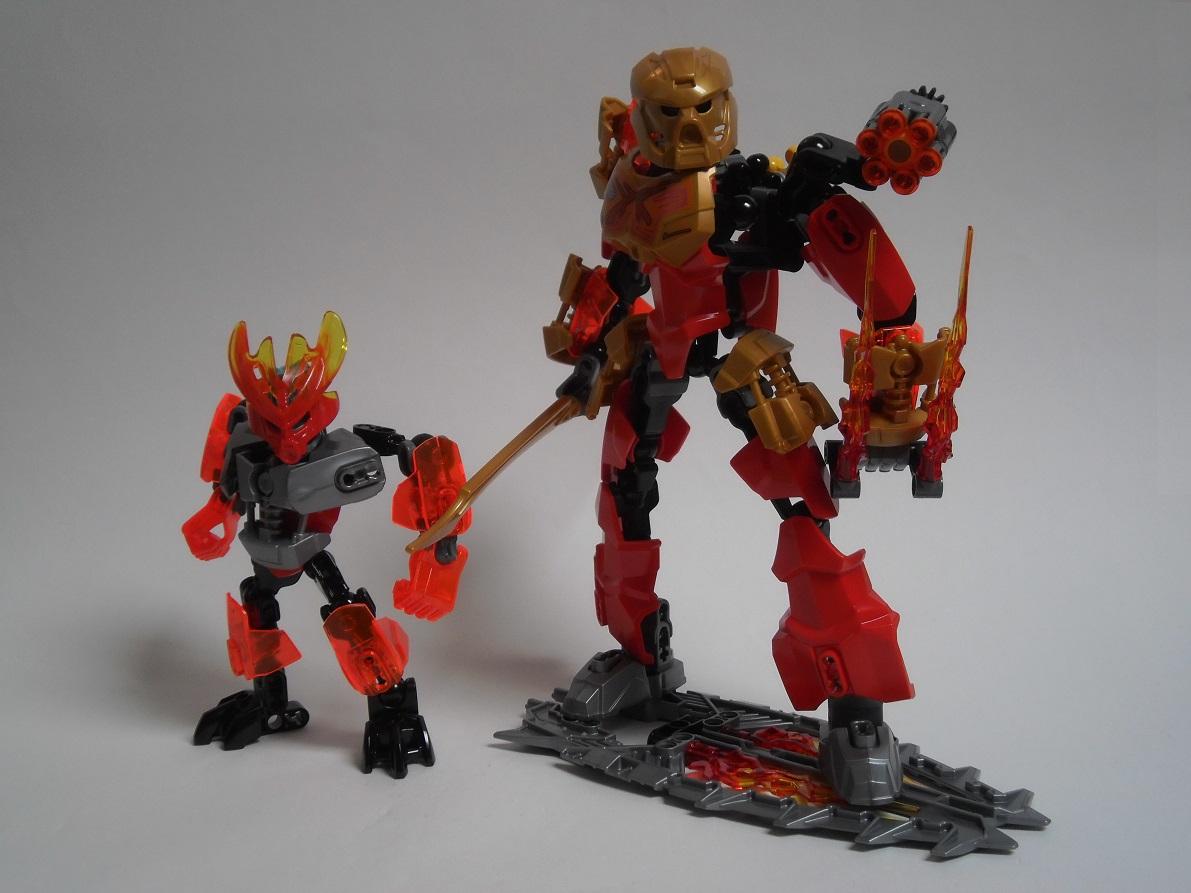 [Revue] LEGO Bionicle 70783 : Protecteur du Feu Pb270127