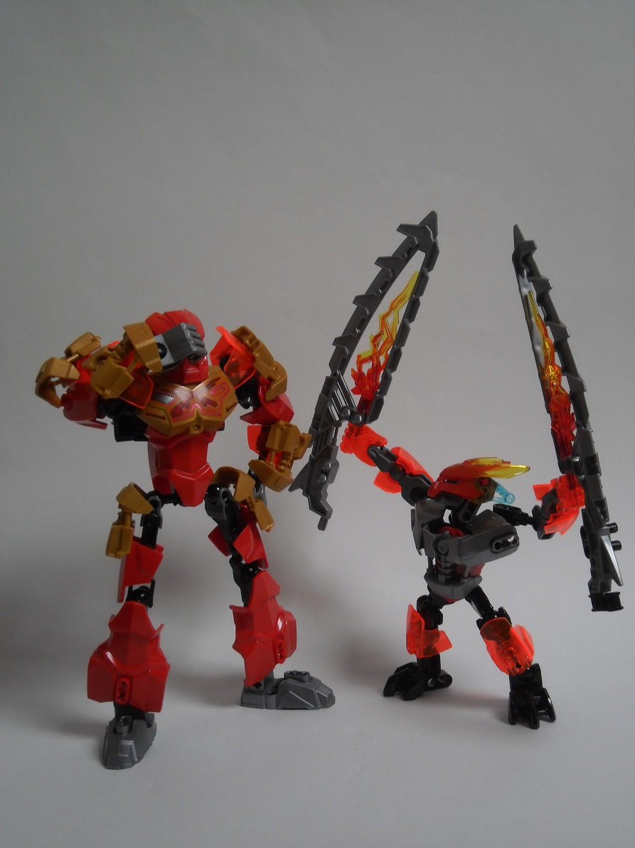 [Revue] LEGO Bionicle 70783 : Protecteur du Feu Pb270136