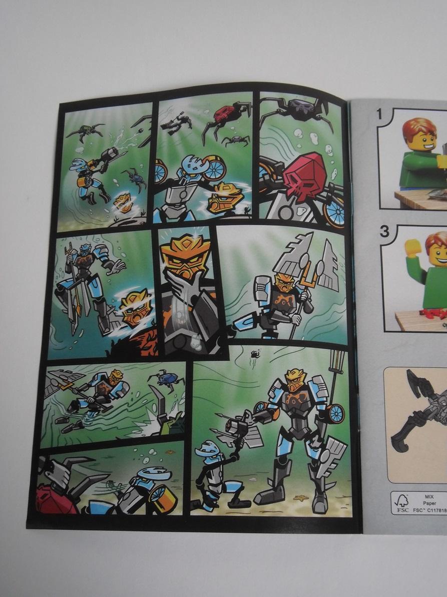 [Revue] LEGO Bionicle 70786 : Gali, Maitre de l'Eau Pb190030