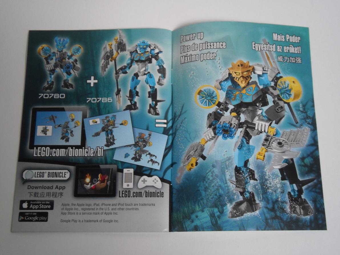 [Revue] LEGO Bionicle 70786 : Gali, Maitre de l'Eau Pb190036