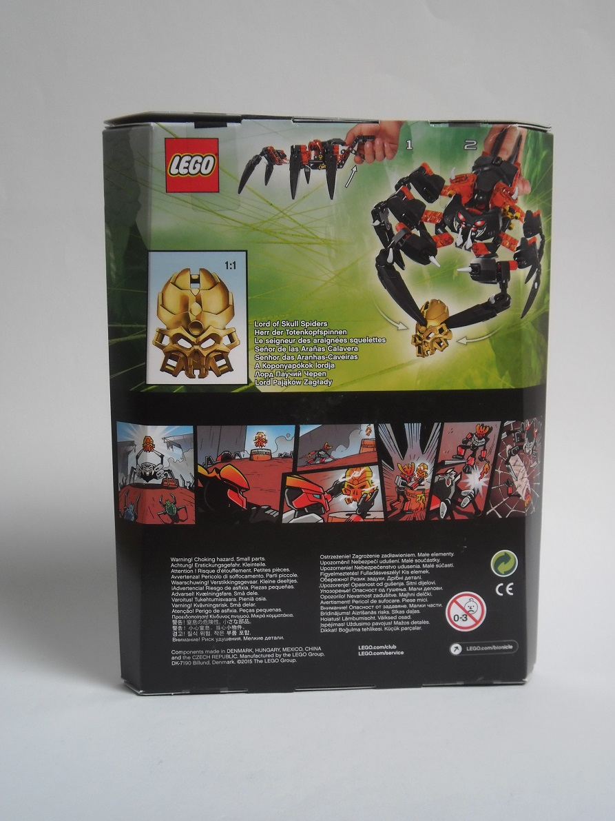 [Revue] LEGO Bionicle 70790 : le Seigneur des Araignées Squelette Pb200027