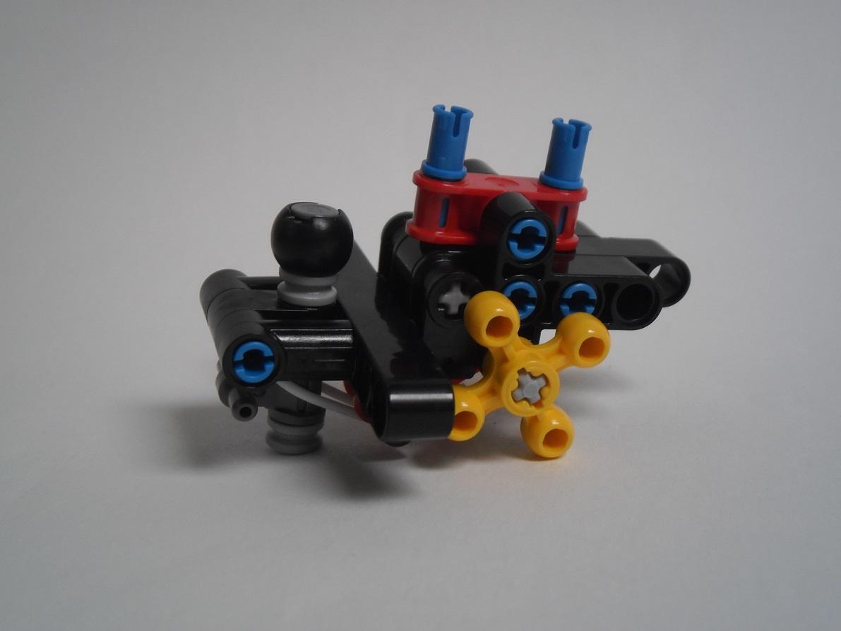 [Revue] LEGO Bionicle 70790 : le Seigneur des Araignées Squelette Pb200049
