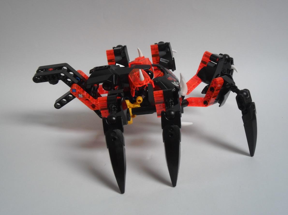 [Revue] LEGO Bionicle 70790 : le Seigneur des Araignées Squelette Pb200091