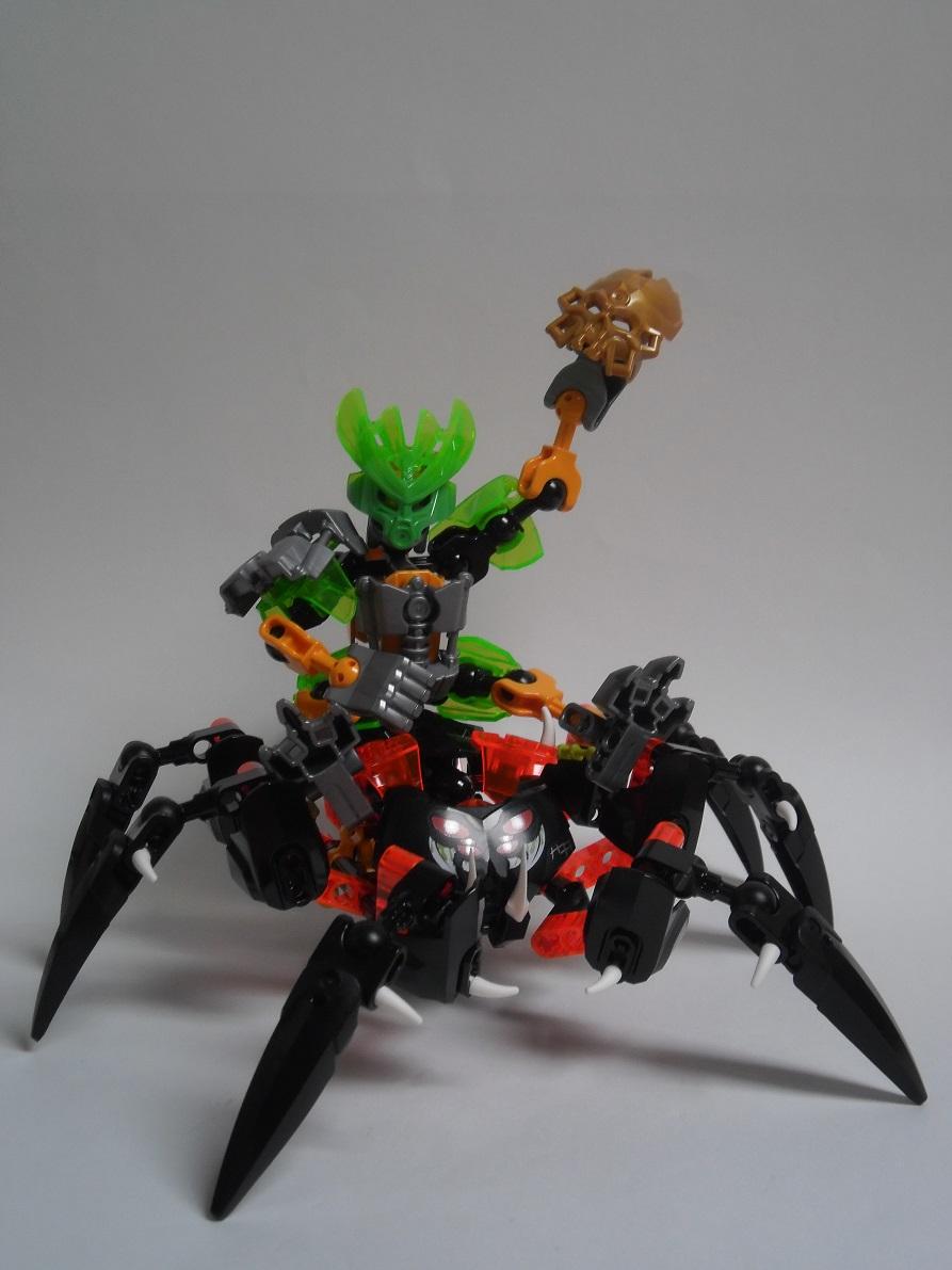 [Revue] LEGO Bionicle 70790 : le Seigneur des Araignées Squelette Pb200116
