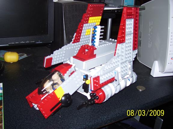 Review on set 8019 Republic attack shuttle 100_0965