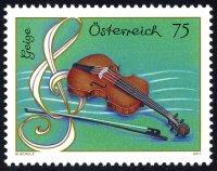 Neue Serie Musikinstrumente  Geige
