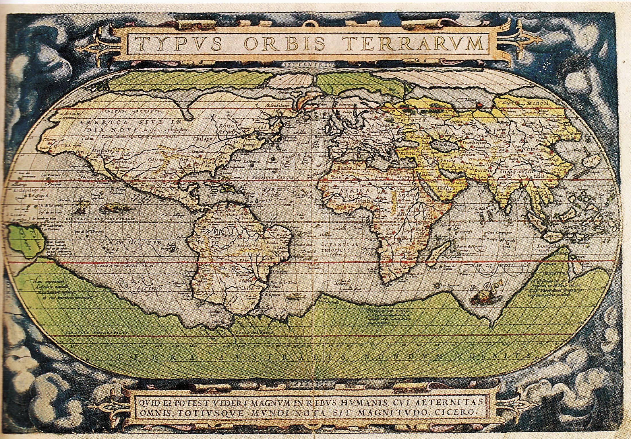 Stare geografske mape i karte - Page 2 Ortelius1570maplarge