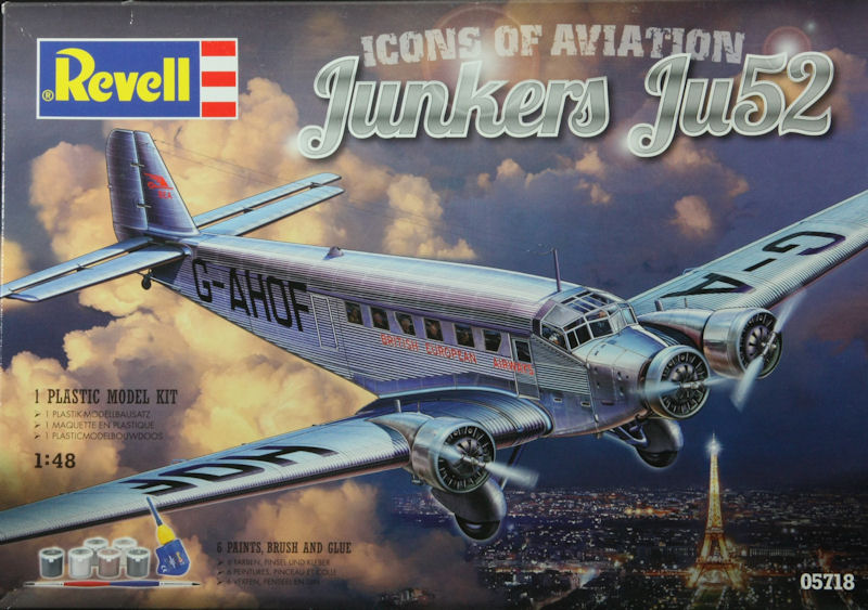 Junkers Ju 52 1/48 revell - Page 2 Box