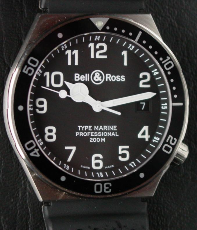 bell & ross by sinn 8000m Marine