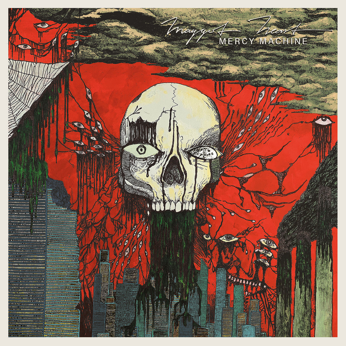 Maggot Heart: Asfalto, Oscuridad y Guitarras Maggot-heart-mercy-machine