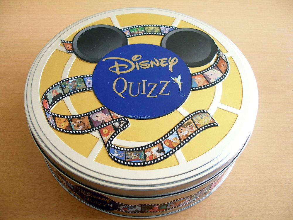 Jeux de société Disney Disneyquizz
