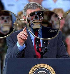 Estan vivos/ They live - John Carpenter (1988) Theylive_bush
