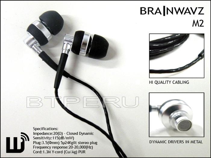 Auriculares Brainwavz M2 BrainwavzM21
