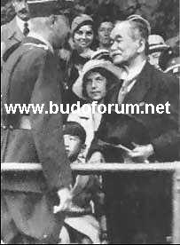 Meeting between Hitler and Kano Kb1933