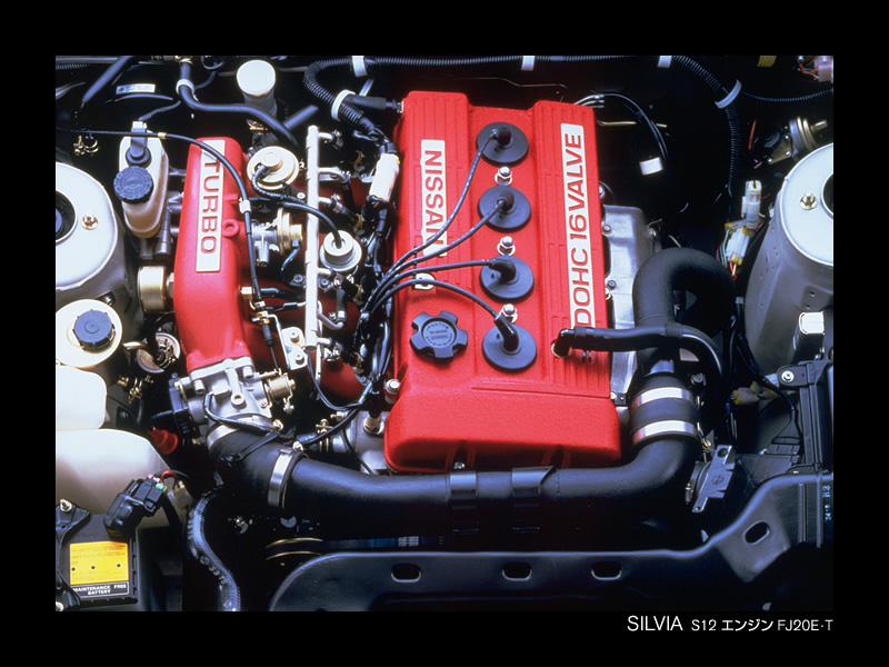 Nissan FJ engine Fj20et