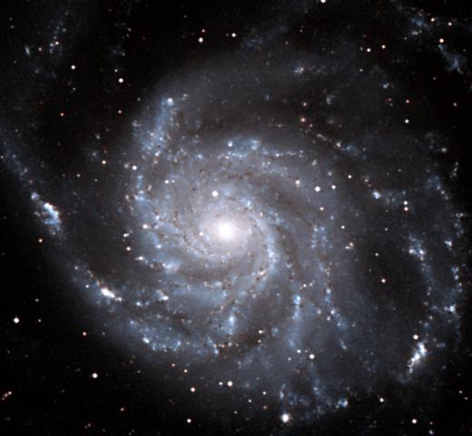 Noćno nebo M101