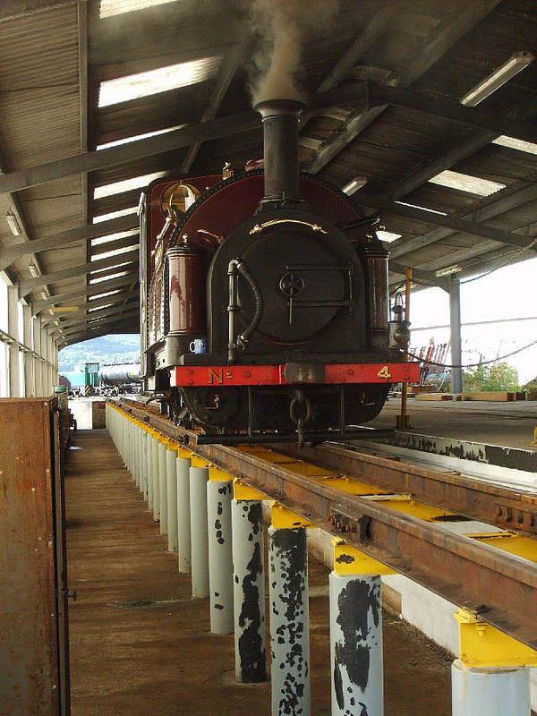 Ffestiniog und Welsh Highland Railways - 60cm Spur Bahnen. 266FR_9