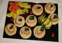 Antipasto di zucchine e salmone 92