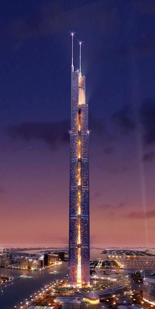 أطول منبى في العالم Albu32mu