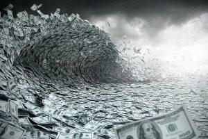 La crise financière est-elle vraiment derrière nous ? - Page 2 Dollars-tsunami-300x200