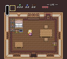 Pallete problem for Minish Zelda when receiving gloves Palbug