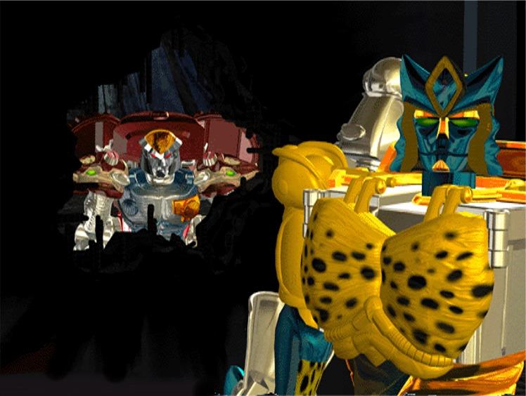 Beast Wars et Beast Machines: Galerie d'Images des Personnages Cheetsandrattrap